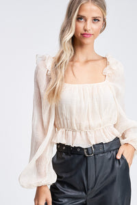 Sarah Long Sleeve Blouse