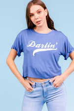 Load image into Gallery viewer, Darlin' Graphic Tee