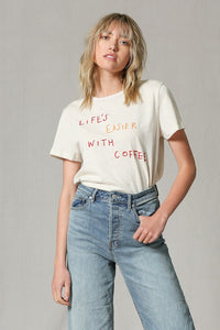 Life's Easier with Coffee Tee