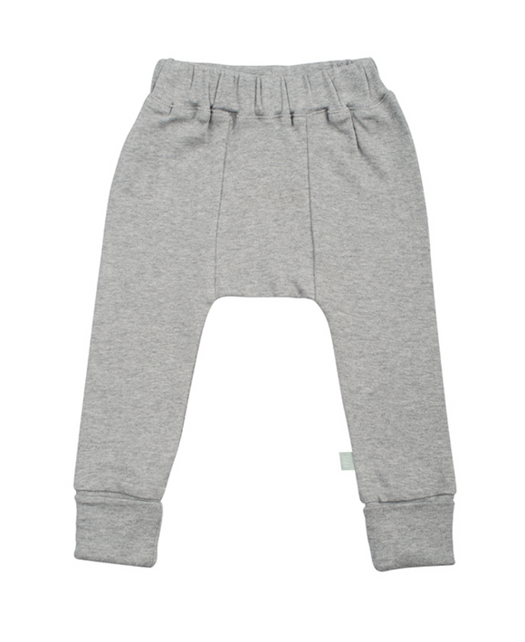 Baby Basic Pants- Grey