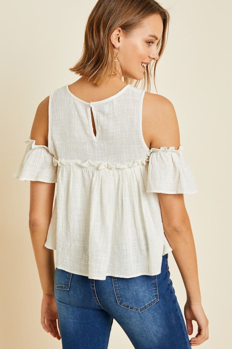 Michelle Cold Shoulder Top