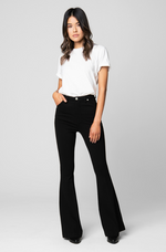 Load image into Gallery viewer, Blank NYC- Ponte Flare Pant (Caviar)