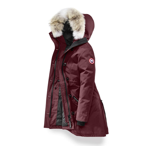 Canada Goose Ladies Rossclair Parka S / Plum