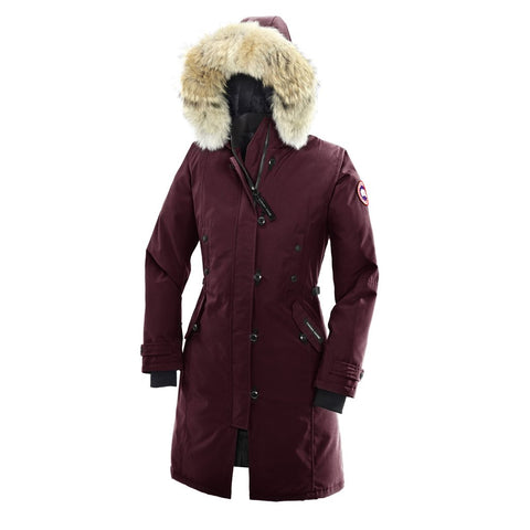 Canada Goose Ladies Kensington Parka L / Niagara Grape