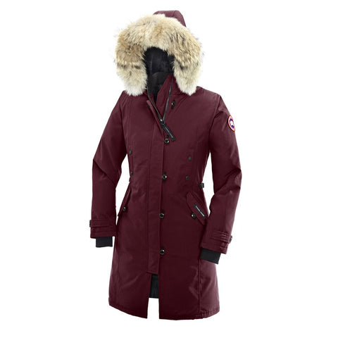 Canada Goose Ladies Kensington Parka S / Bordeaux