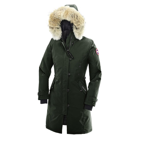 Canada Goose Ladies Kensington Parka XL / Algonquin Green