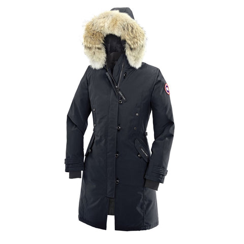 Canada Goose Ladies Kensington Parka M / Navy