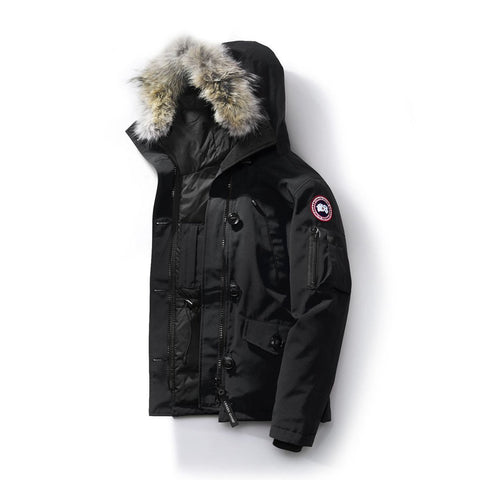 Canada Goose Ladies Montebello Parka - Fusion Fit L / Black