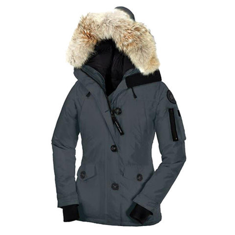 Women's Montebello CG55 Parka Steel
