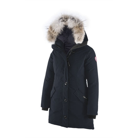 Canada Goose Ladies Rossclair Parka L / Ink Blue