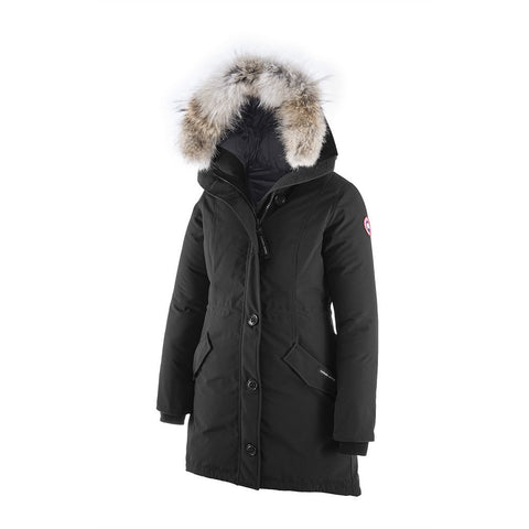 Canada Goose Ladies Rossclair Parka L / Black