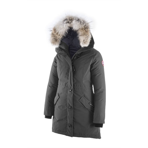 Canada Goose Ladies Rossclair Parka XL / Graphite