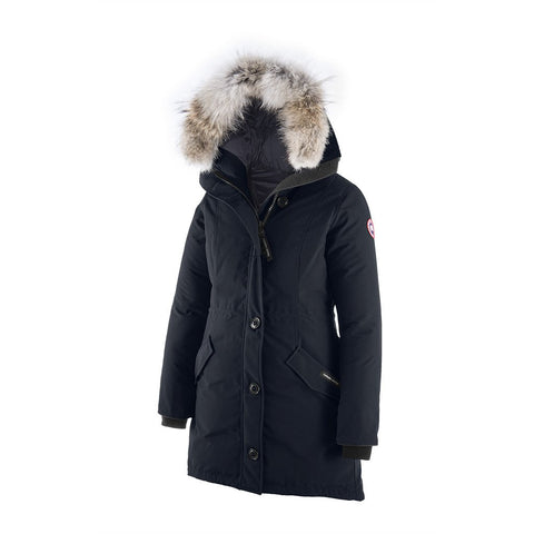 Canada Goose Ladies Rossclair Parka L / Navy