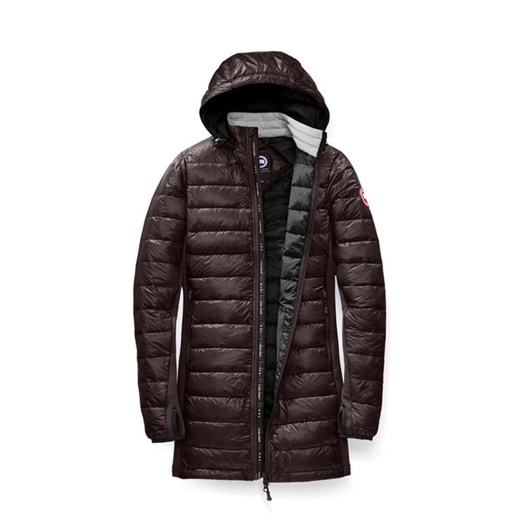 Canada Goose Womens Hybridge Lite Coat black-graphite