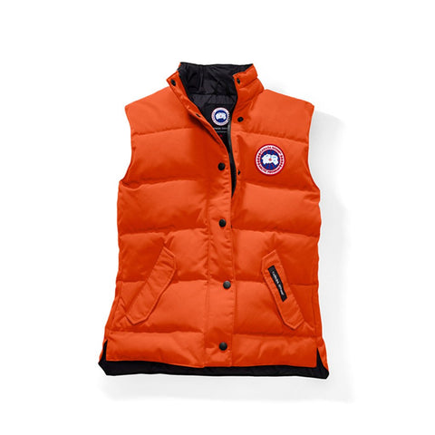 Canada Goose Ladies Freestyle Vest M / Monarch Orange