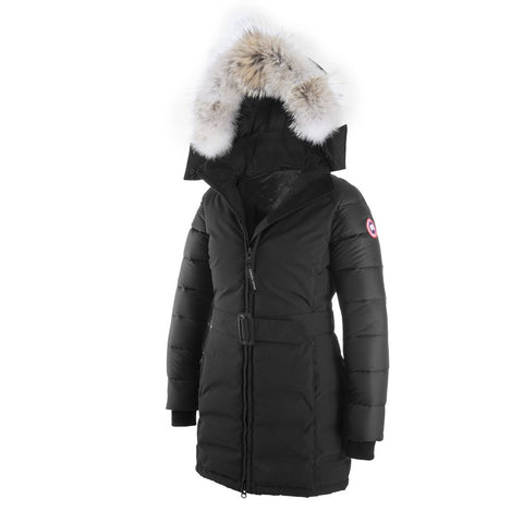 Womens Rowan Parka Black