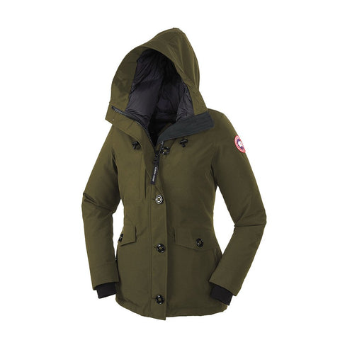 Canada Goose Ladies Rideau Parka M / Military Green