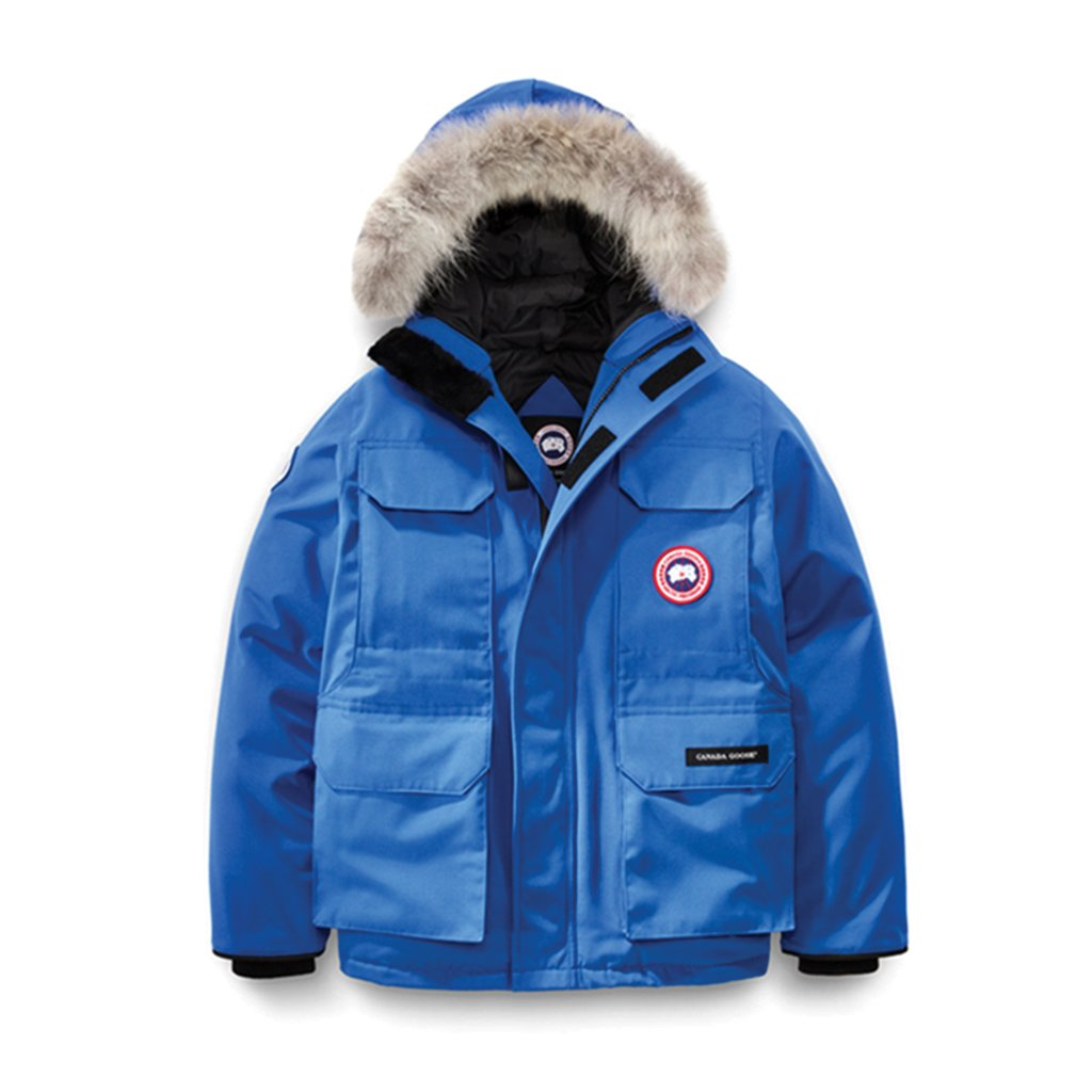 Canada Goose Youth PBI Expedition Parka royal