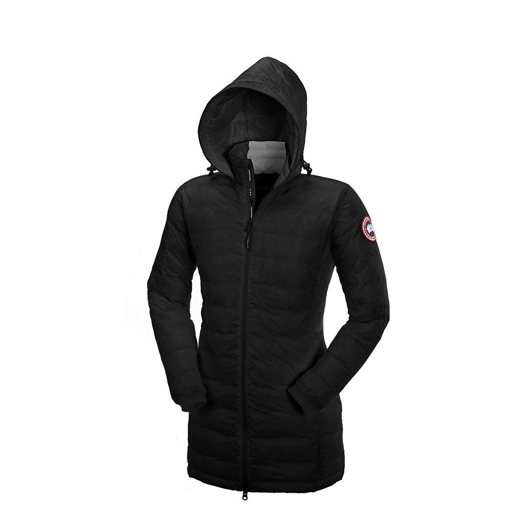 Canada Goose Women's Camp Hooded Jacket red-black