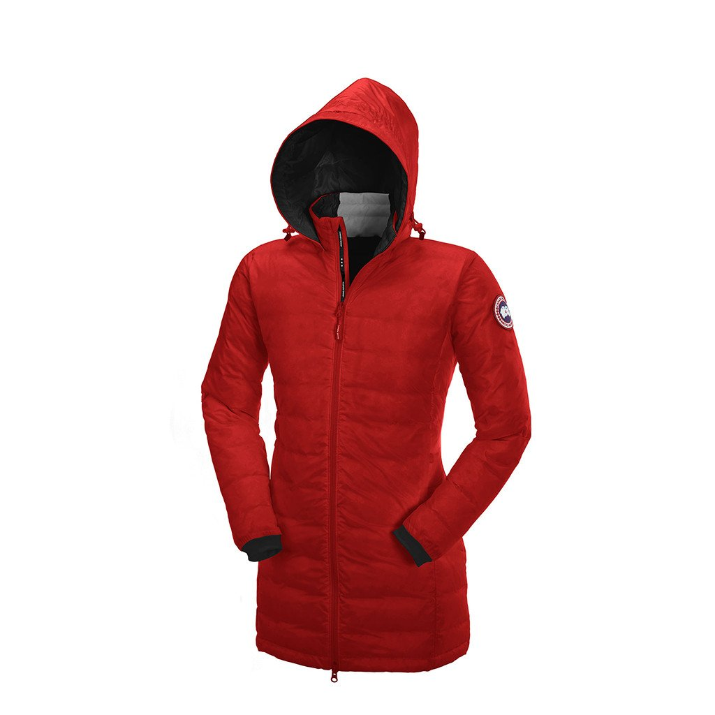 Canada Goose Women's Camp Hooded Jacket red
