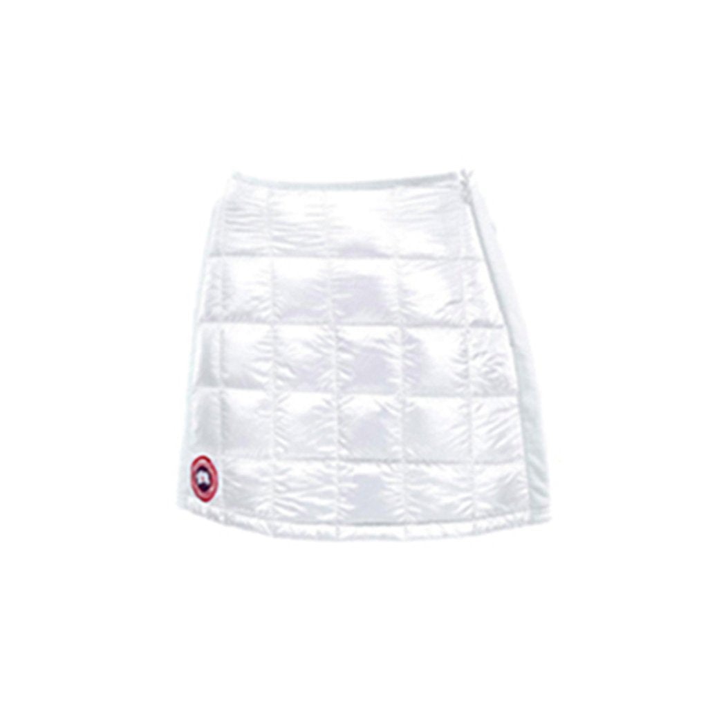 Canada Goose Womens Hybridge Lite Skirt white