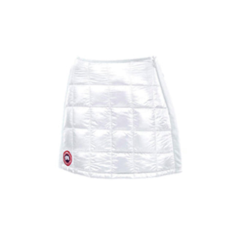 Canada Goose Ladies Hybridge Lite Skirt M / White