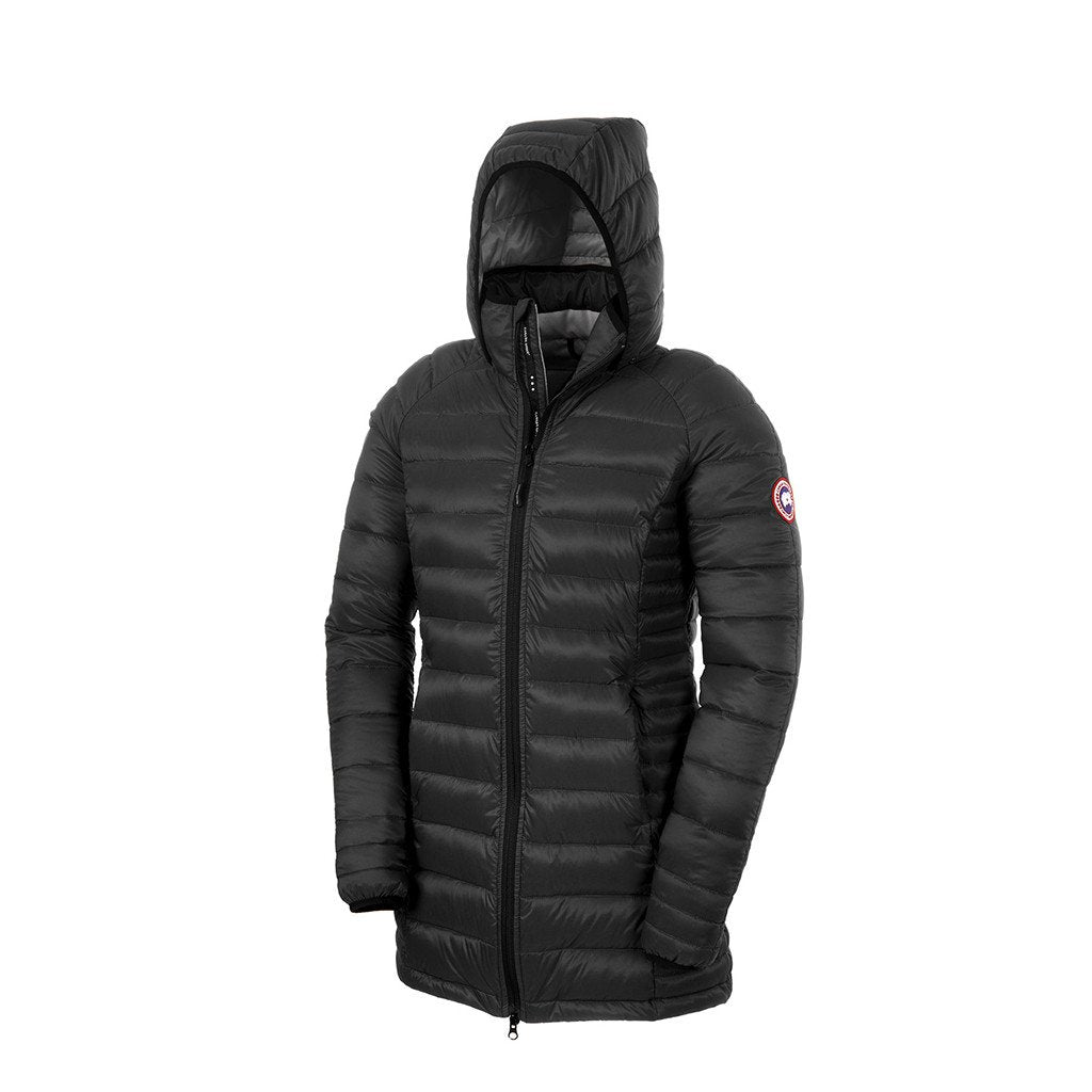 Canada Goose Womens Brookvale Hooded Coat black