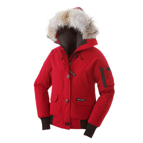 Canada Goose Ladies Chilliwack Bomber L / Red