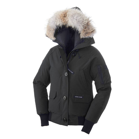 Canada Goose Ladies Chilliwack Bomber 2XS / Black
