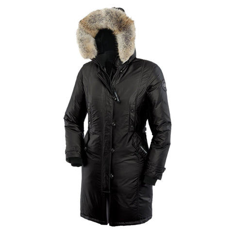 Womens Kensington Parka CG55 Black