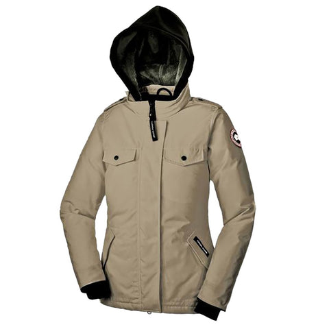 Canada Goose Ladies Burnett Jacket M / Wasaga Sand
