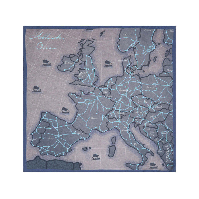 European Affair pocket square