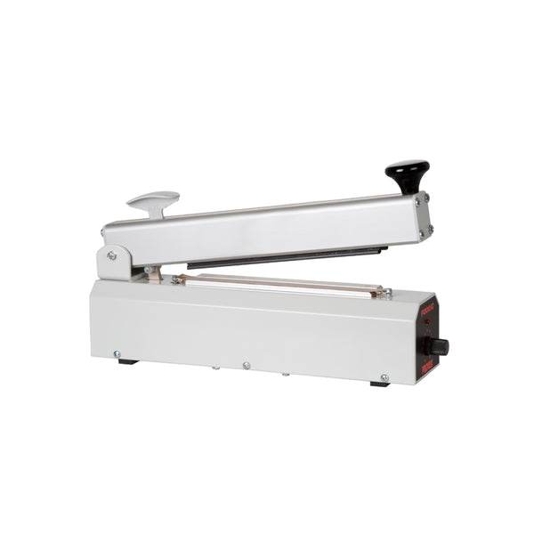 200mm Impulse Heat Sealer With Cutter, 2mm Seal Width