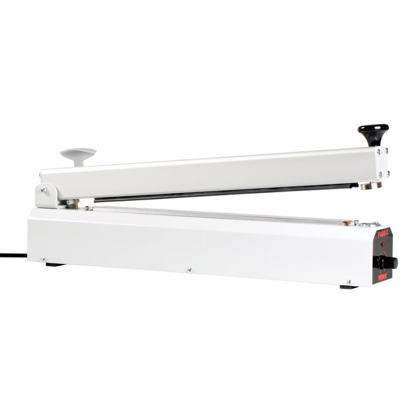 400mm Magnet Arm Impulse Heat Sealer With Cutter, 390mm X 2mm Seal