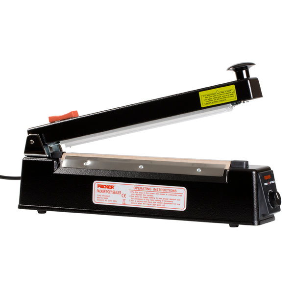 300mm Impulse Bag Sealer With Cutter, 300mm X 2mm Seal