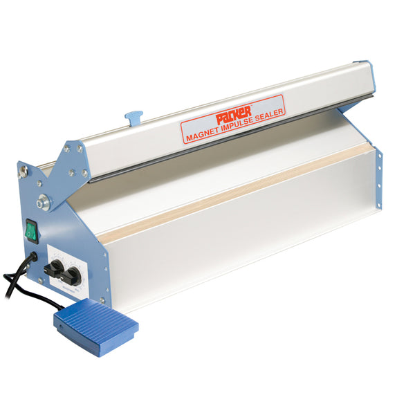 Magnet Release Impulse Heat Sealer, With Electric Seal Arm, 480mm X 4mm Seal