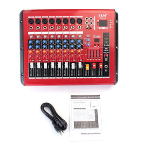 Professional 8Channel DJ Mixer Controller With Bluetooth