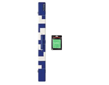 Load image into Gallery viewer, PowerGlide PVC Patchwork 2-Piece Cue Case & Towel - Triple DDD Sports Ltd
