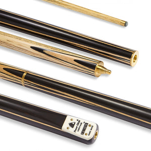 Connoisseur Snooker Cue 3/4 Split 9.5mm Tip - Triple DDD Sports Ltd