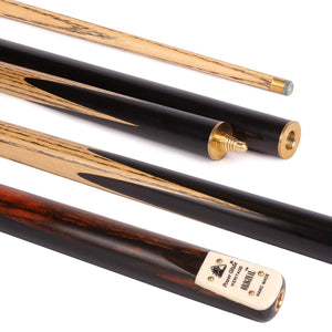 PowerGlide Original 3-Piece Snooker Cue with 9.5mm Tip - Triple DDD Sports Ltd