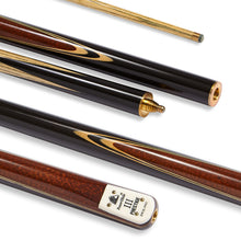 "Load image into Gallery viewer, PowerGlide Prestige ""III"" 3-Piece Snooker Cue with 9.5mm Tip - Triple DDD Sports Ltd"