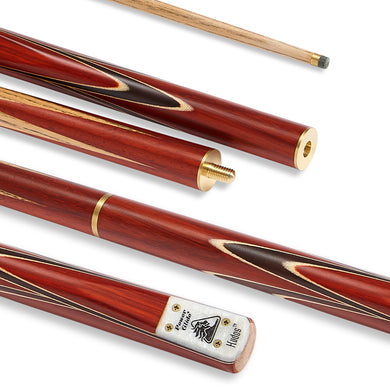 PowerGlide Kudos English 3-Piece Pool Cue with 8.5mm Tip - Triple DDD Sports Ltd