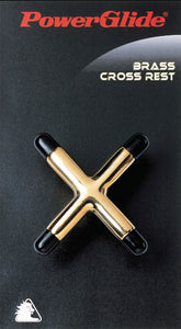 Brass Cross Rest (2) + Spider (2) + .Bridge Heads (no cues) + Full Size Balls + Triangle - Triple DDD Sports Ltd
