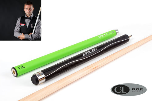 BCE C8L Hybrid 8 Ball Pool/Break Cue 2 Green Black Maple  + FREE 2PC BCE Attache Case - Triple DDD Sports Ltd