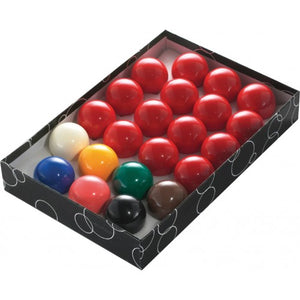 Snooker Balls / Snooker Triangle / Table Brush & 12x Blue Chalk - Triple DDD Sports Ltd