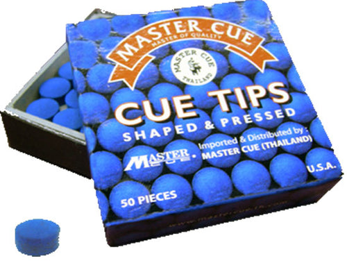 Master Cue Tips - Triple DDD Sports Ltd