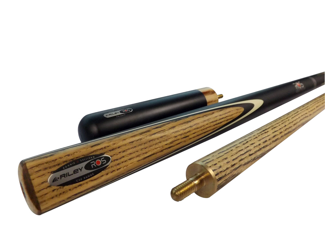 Riley 2-Piece Ronnie O'Sullivan Snooker/Pool Cue - Triple DDD Sports Ltd