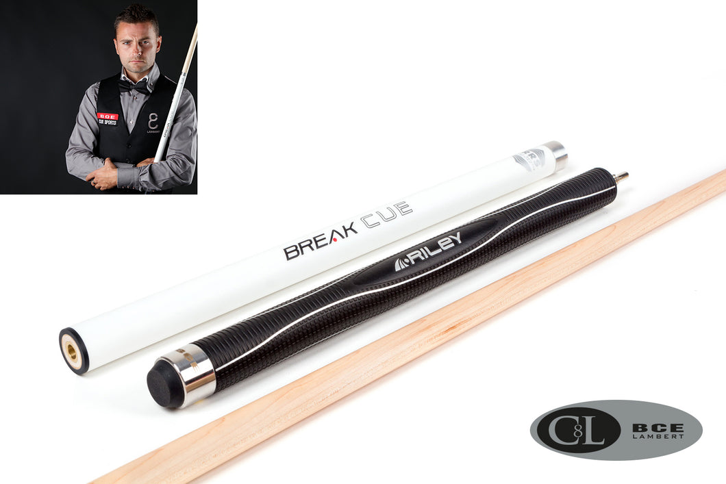 BCE C8L Hybrid 8 Ball Pool/Break Cue 4 - White Black Maple + FREE 2PC BCE Attache Case - Triple DDD Sports Ltd