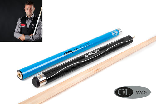 BCE C8L Hybrid 8 Ball Pool/Break Cue 5 Blue Black Maple + FREE 2PC BCE Attache Case - Triple DDD Sports Ltd