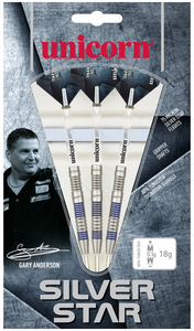 Unicorn - Silver Star 80% Tungsten - Gary Anderson - Triple DDD Sports Ltd